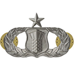 Air Force Badge: Air Traffic Control: Senior - midsize