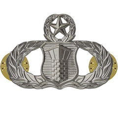 Air Force Badge: Air Traffic Control: Master - midsize