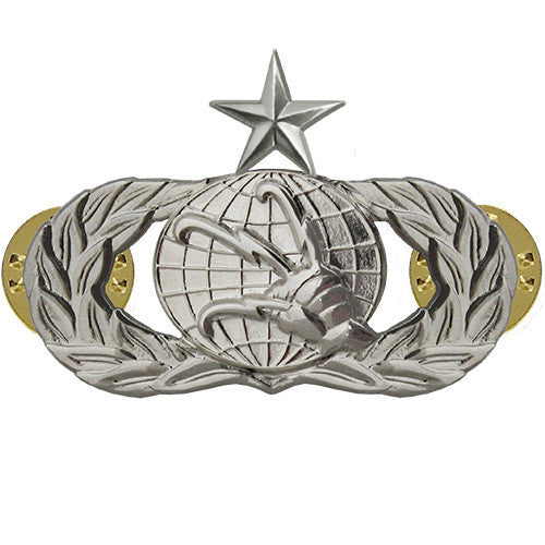 Air Force Badge: Communications: Senior - regulation size