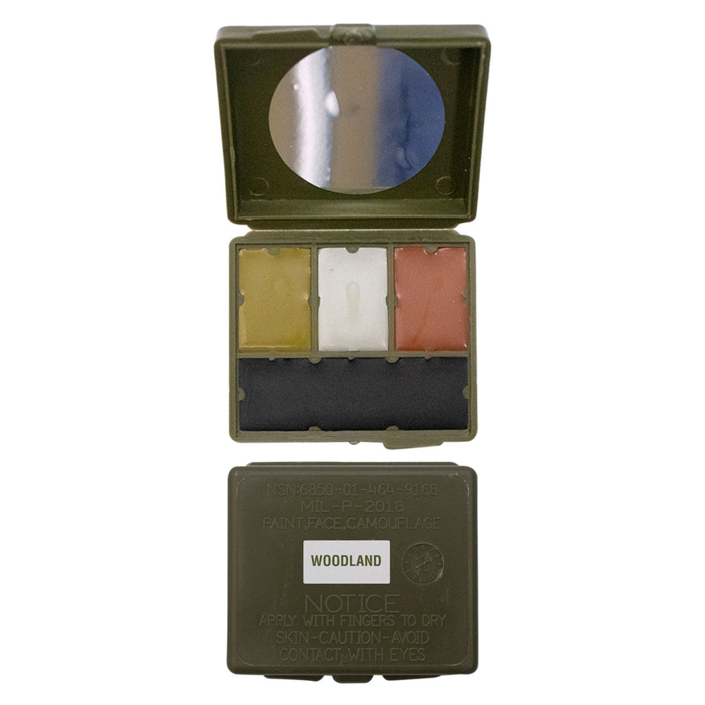 Camouflage Face Paint - 4 colors kit
