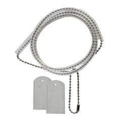 Identification Tag Chain with Silencers - complete set
