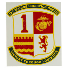 Decal: 1st Marine Logistics Group