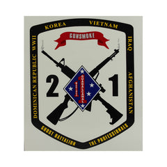 Decal: 2nd Battalion 1st Marines