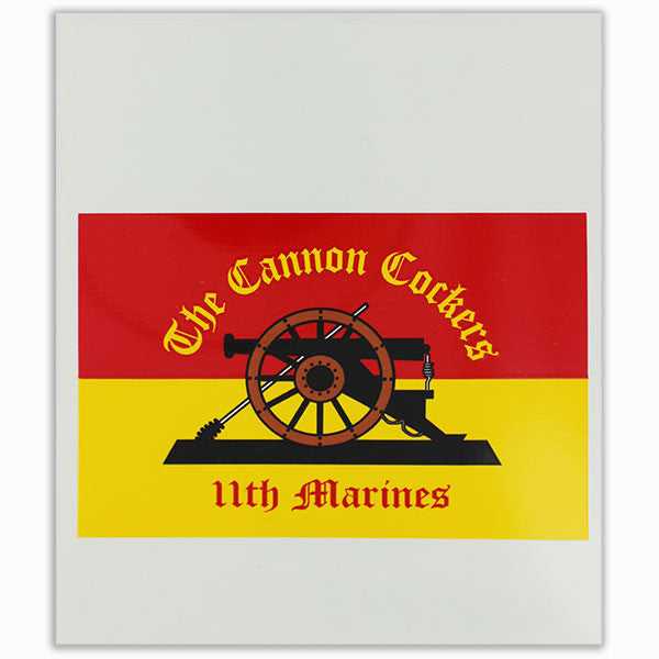Decal 11th Marines The Cannon Cockers Vanguard