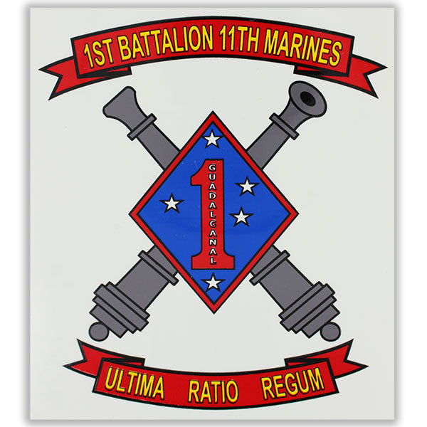 Decal: 1st Battalion 11th Marines: Ultime Ration Regum