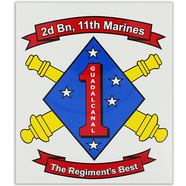 Decal: 2nd battalion 11th Marines: The Regiment's Best