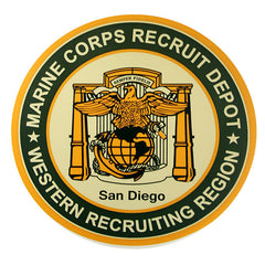 Marine Corps Recruiting Depot Sticker Decal: MCRD
