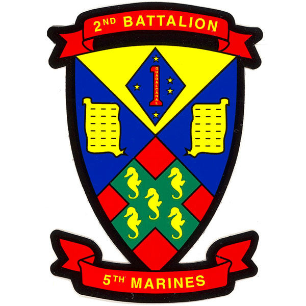 Decal: Second Battalion Fifth Marines