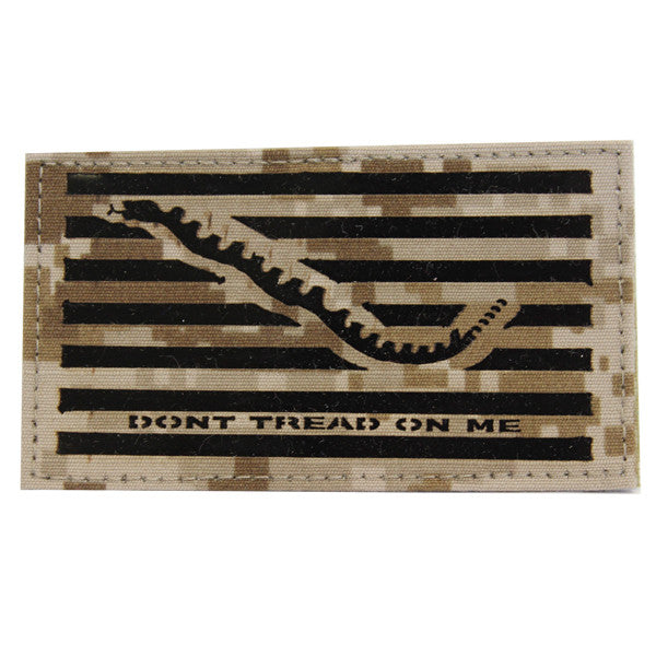 Flag Patch: Don't Tread On Me - Desert Digital