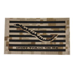 Flag Patch: Don't Tread On Me - IR - Desert Digital