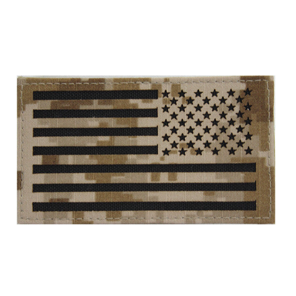 Flag Patch: U.S. Flag Reversed Field - Desert Digital