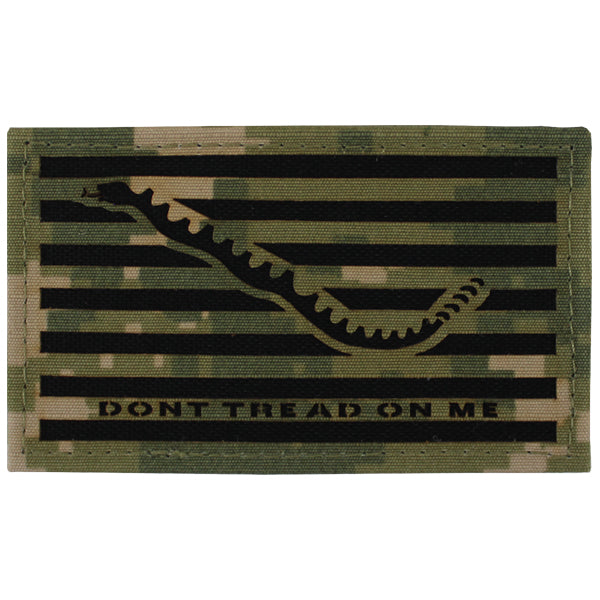 Flag Patch: Don't Tread On Me - Woodland Digital