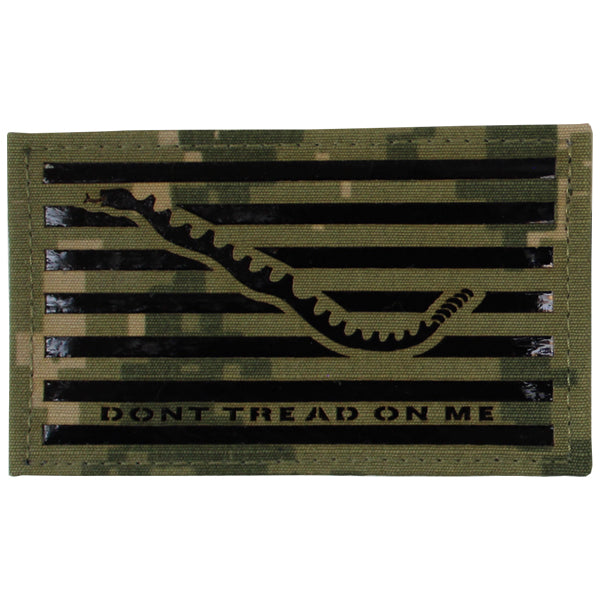 Flag Patch: Don't Tread On Me - IR - Woodland Digital (NON-REFUNDABLE)