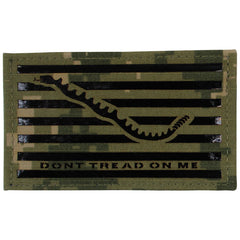 Flag Patch: Don't Tread On Me - IR - Woodland Digital