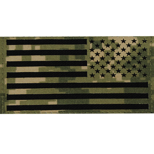 Flag Patch: U.S. Flag Reversed Field - Woodland Digital NWUIII