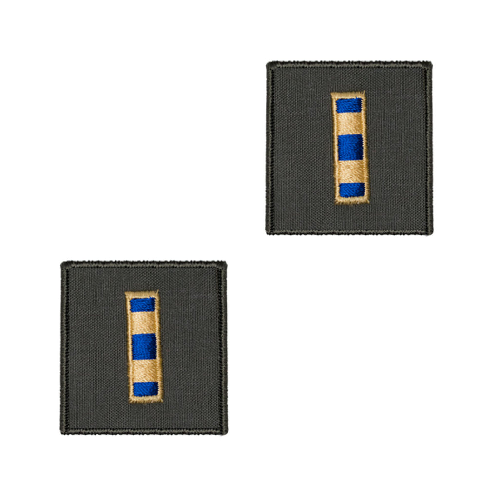 Navy Embroidered Rank: Warrant Officer 2 - flight suit