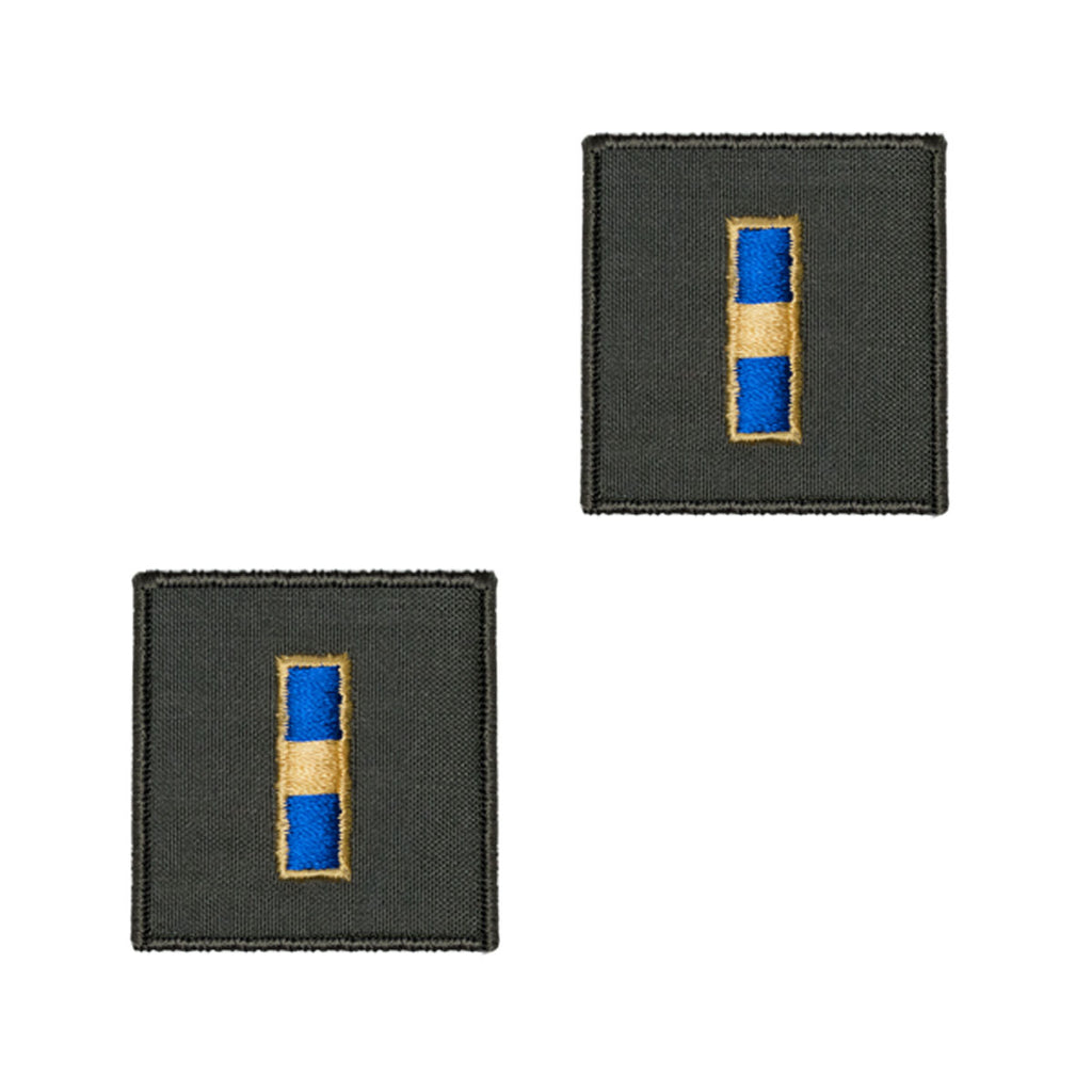 Navy Embroidered Rank: Warrant Officer 1 - flight suit