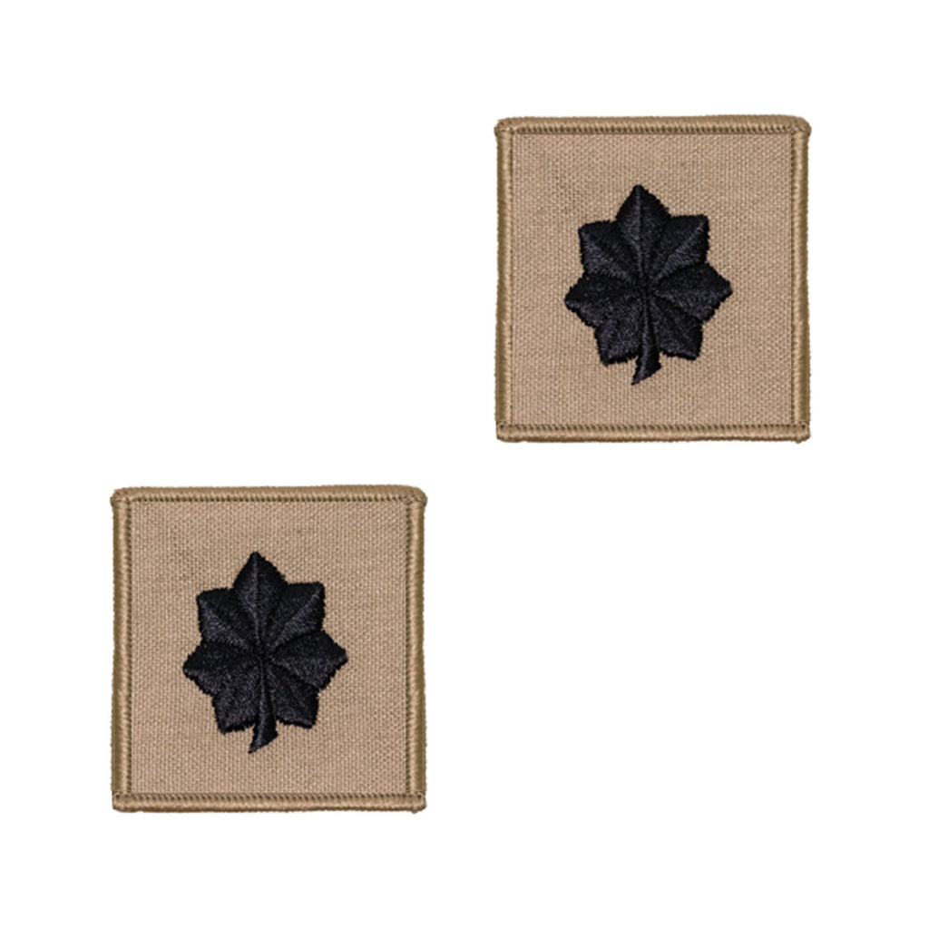 Navy Embroidered Rank: Commander - Desert (NON-RETURNABLE)