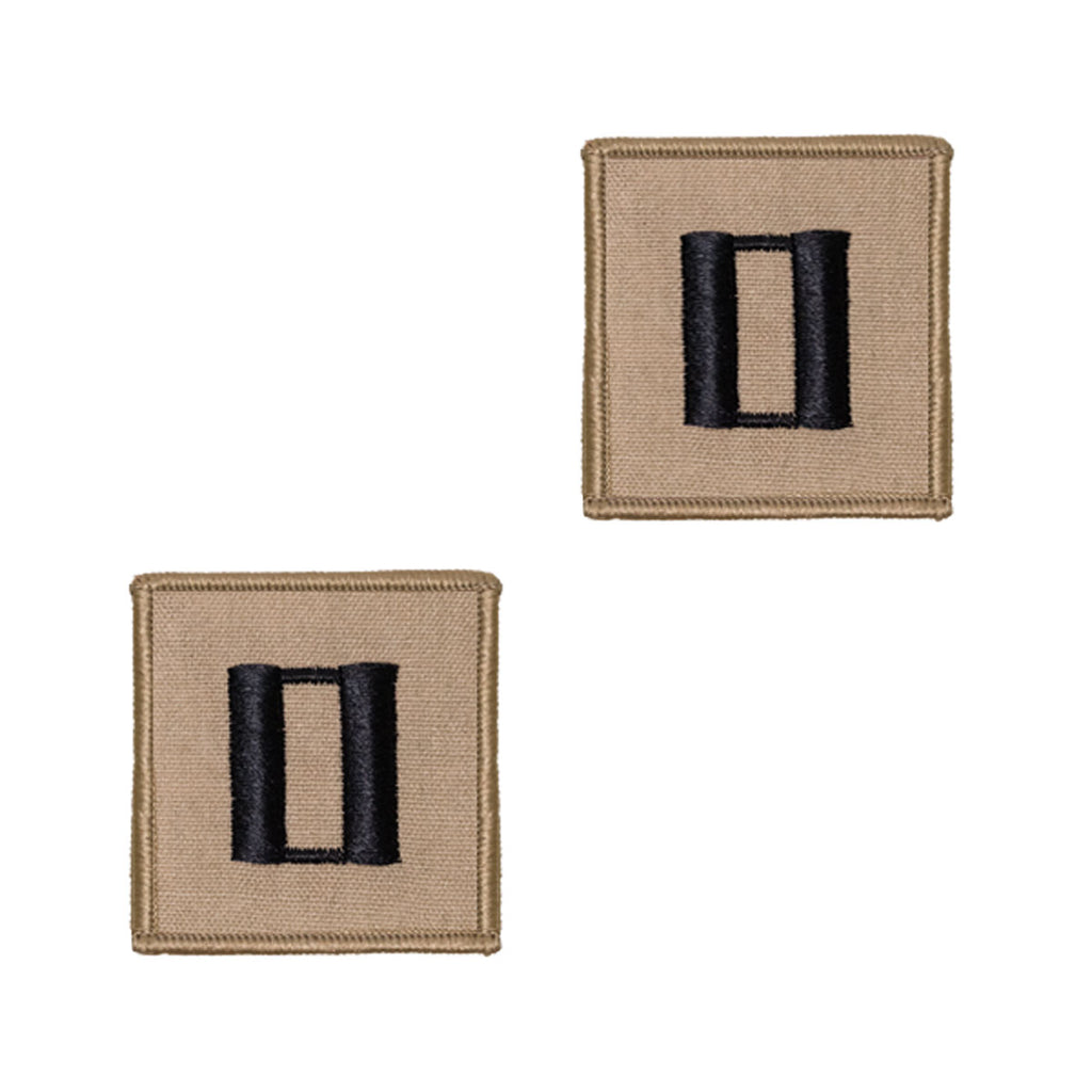 Navy Embroidered Rank: Lieutenant - Desert (NON-RETURNABLE)