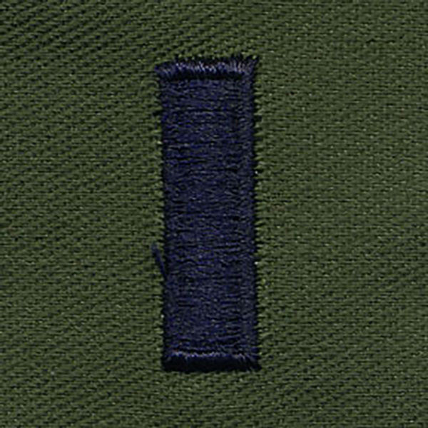 Air Force Embroidered Rank: First Lieutenant - subdued fatigue (NON-REFUNDABLE)