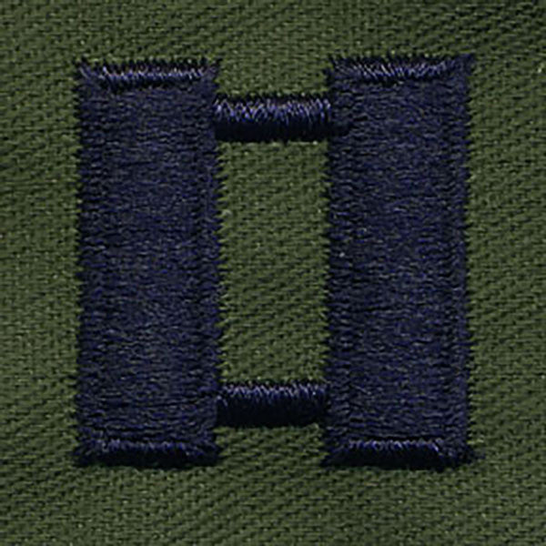 Air Force Embroidered Rank: Captain - embroidered on subdued fatigue (NON-REFUNDABLE)