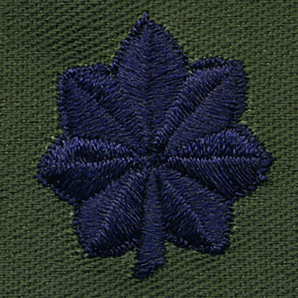 Air Force Embroidered Rank: Lieutenant Colonel - subdued fatigue (NON-REFUNDABLE)