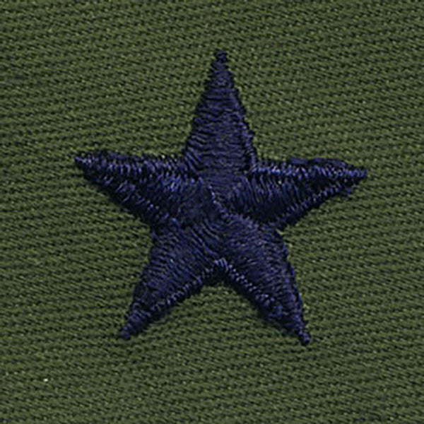 Air Force Embroidered Rank: Brigadier General - subdued fatigue (NON-REFUNDABLE)