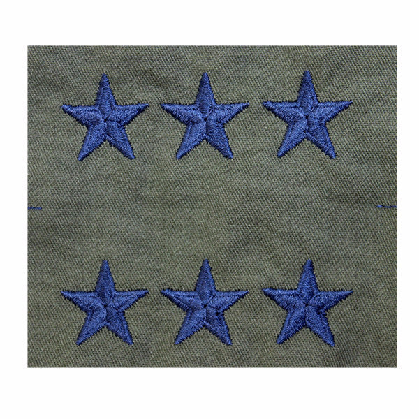 Air Force Embroidered Rank: Lieutenant General - subdued fatigue (NON-REFUNDABLE)