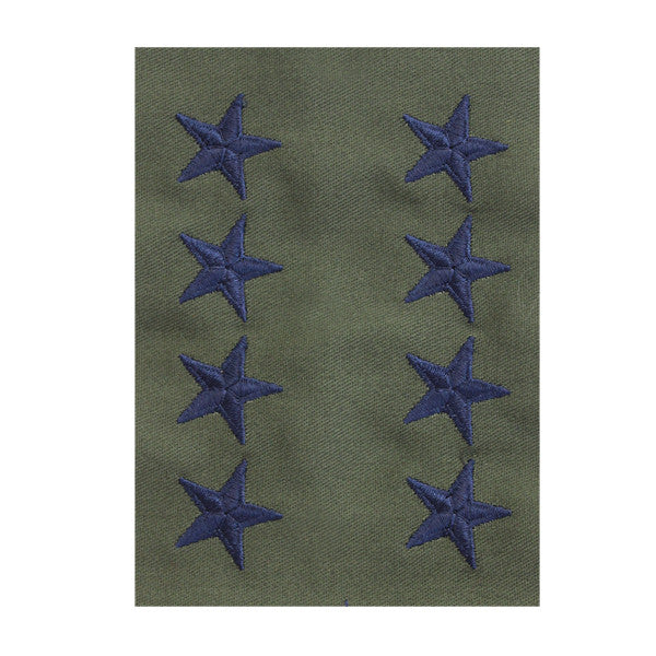 Air Force Embroidered Rank: General - subdued fatigue (NON-REFUNDABLE)