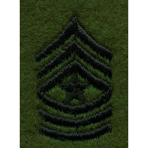 Army Leadership Rank Tab: Sergeant Major