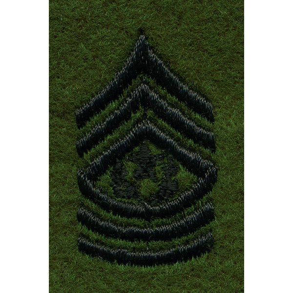 Army Leadership Rank Tab: Command Sergeant Major