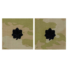 Army and Air Force Embroidered OCP Sew on Officer Rank Insignia: Lieutenant Colonel