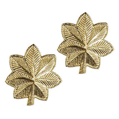 Army Rank Insignia: Major - 22k Gold Plated