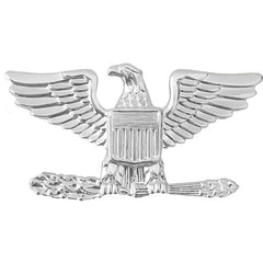 Air Force Rank Insignia: Colonel - for overseas cap