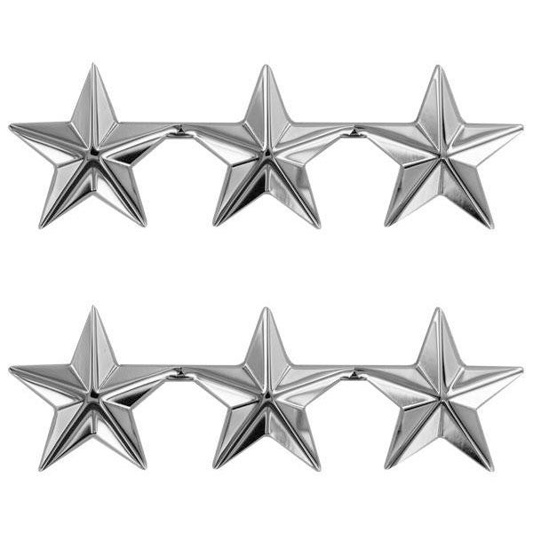 Stars: Nickel plated 1