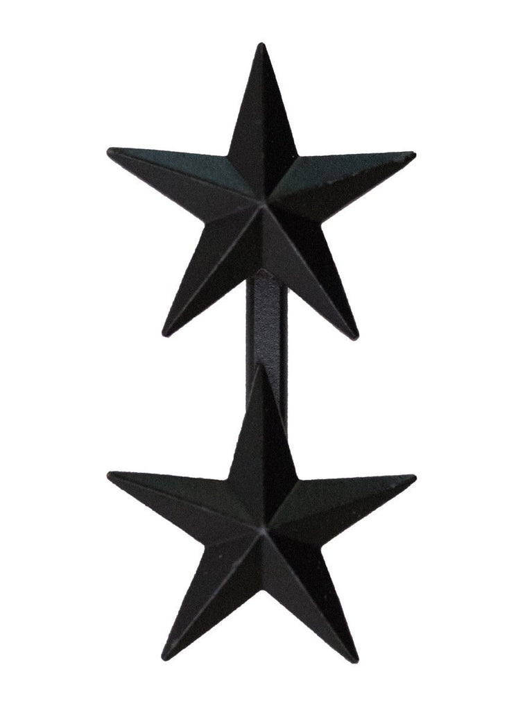 Coat Device: Two-Star Rear Admiral - point to center stars, subdued metal