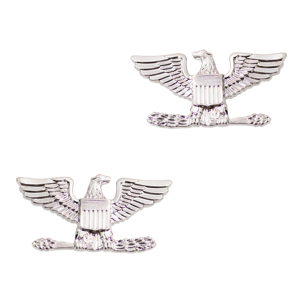 Miniature Collar Device: Eagle Silver