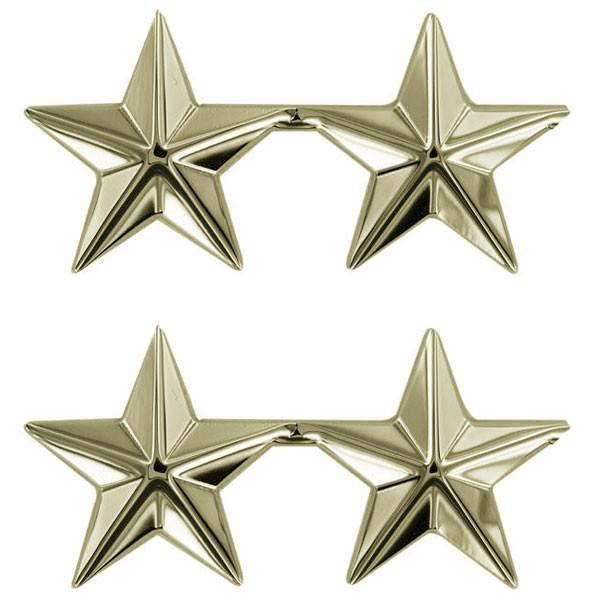 Gold Stars: 2 star clutch back