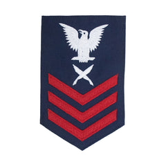 Coast Guard E6 Rating Badge: YEOMAN - Blue
