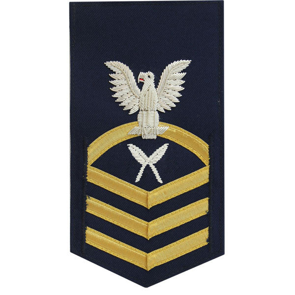 Coast Guard E7 Rating Badge:  Yeoman