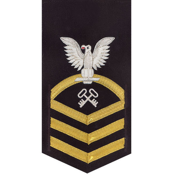 Navy E7 Rating Badge: Storekeeper and Logistics Specialist - vanchief