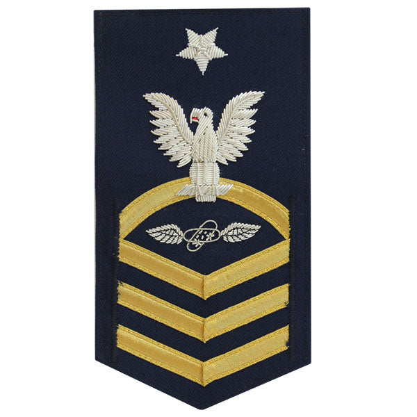 Coast Guard E8 Rating Badge:  Avionics Technician