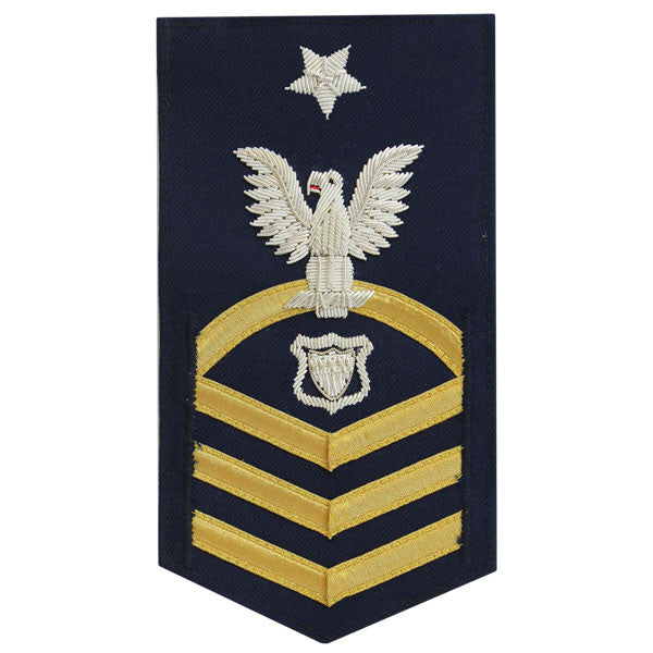 Coast Guard E8 Rating Badge:  Maritime Enforcement