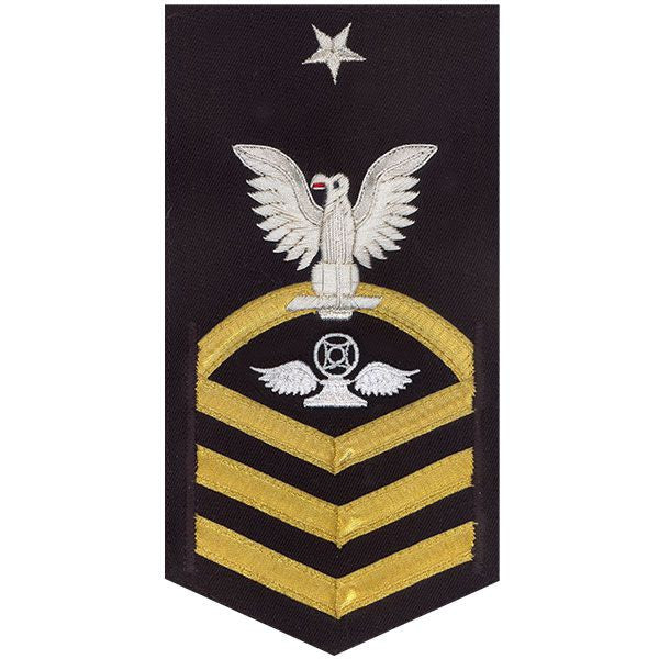 Navy E8 Rating Badge: Air Traffic Control - vanchief on blue