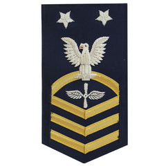 Coast Guard E9 Rating Badge:  Aviation Maintenance Technician