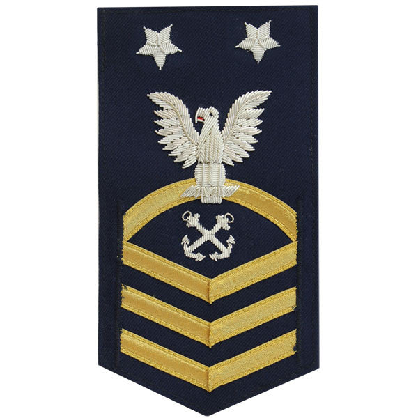 Coast Guard E9 Rating Badge:  Boatswain Mate