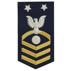 Coast Guard E9 Rating Badge:  Electrician Mate
