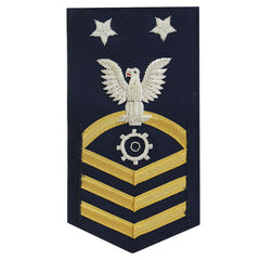Coast Guard E9 Rating Badge:  Machinery Technician