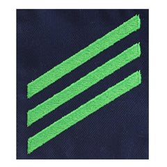 Coast Guard Rating Badge: Group Rate E3 Airman - blue serge