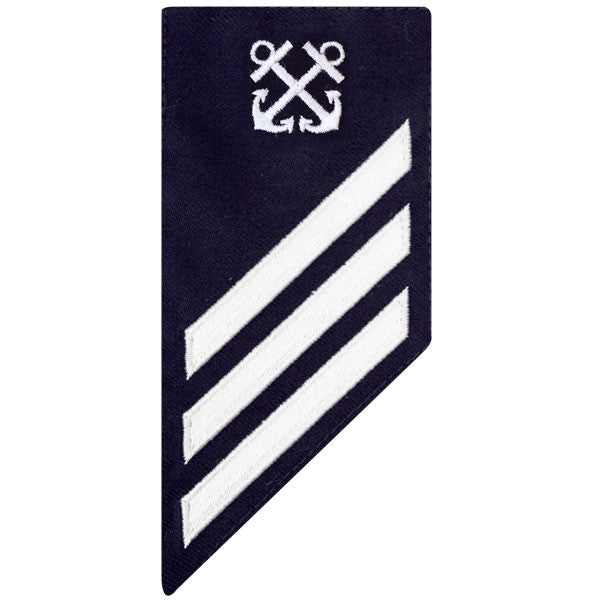 Coast Guard E3 Rating Badge: BOATSWAIN MATE - BLUE